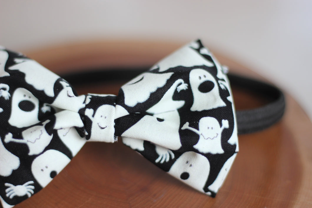 Halloween Ghost Bow Tie