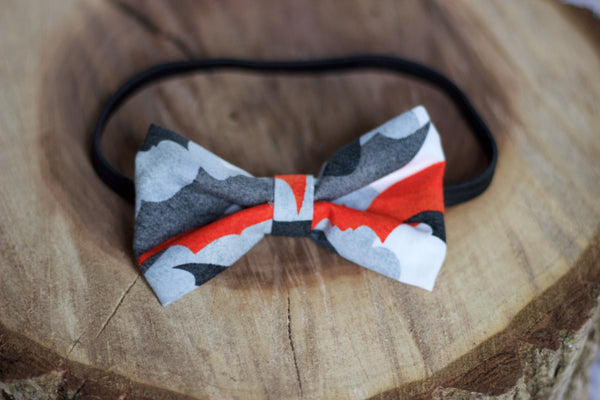 Bats on Bats Bow Tie