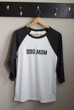 Dog Mom Baseball T-Shirt