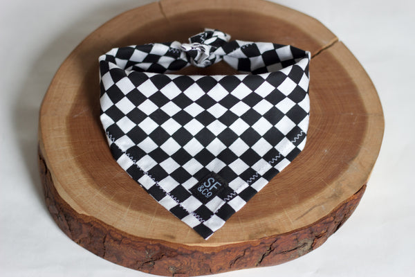 Checkers Bandana