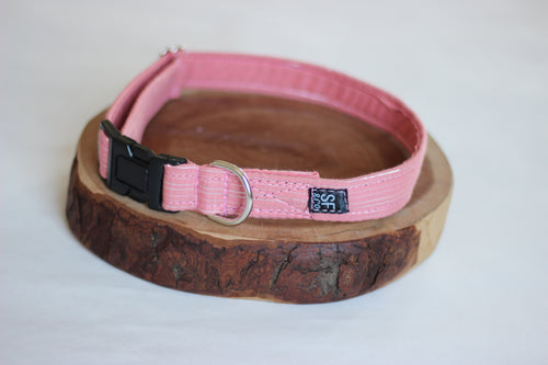 Peach Sparkle Collar