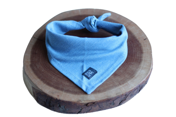 Blue Denim Bandana