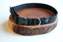 Black Denim Collar