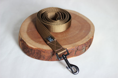 Brown Nylon Leash