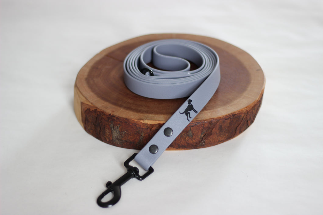 Grey Biothane Leash