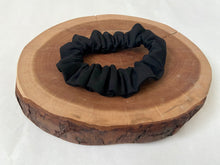Black Denim Scrunchie