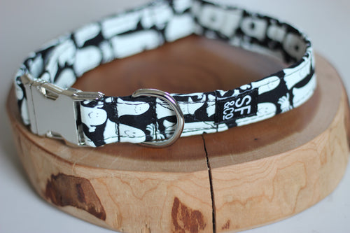 Halloween Ghost Collar