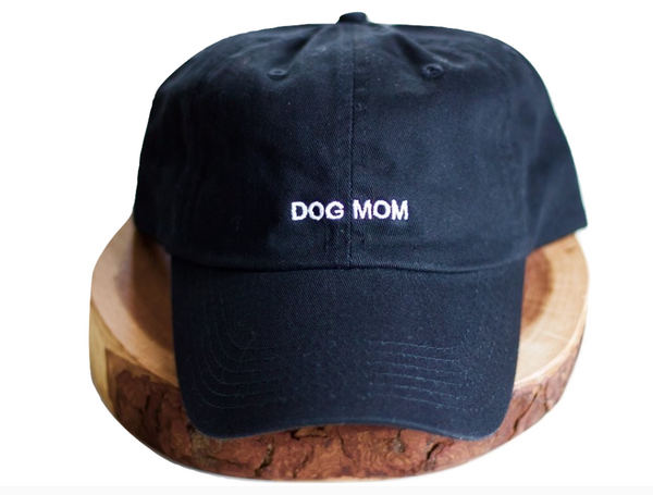 Black Dog Mom Dad-Hat