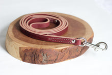 Oxblood Leather Leash