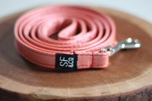 Peach Pleather Leash