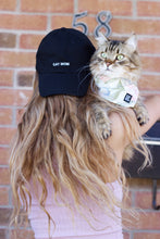 Black Cat Mom Dad-Hat