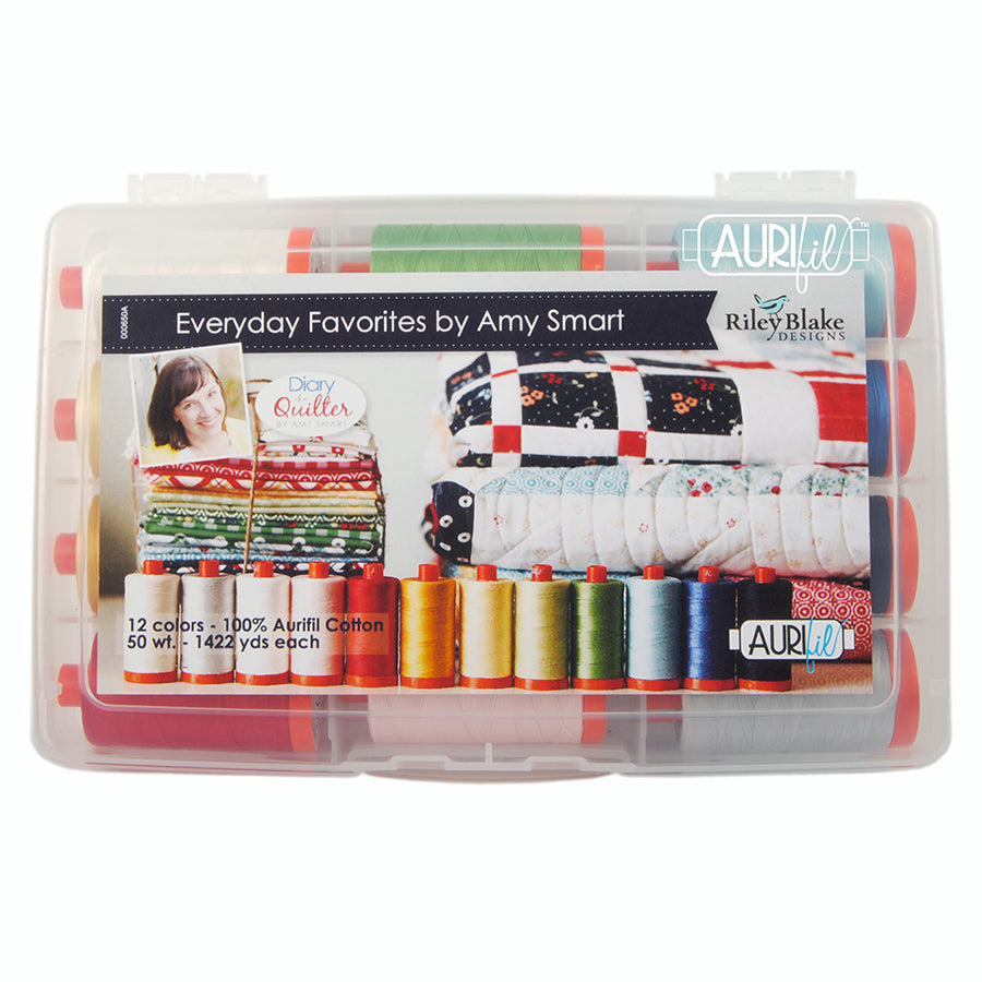 Amy Smart's Everyday Favorites Aurifil Thread Collection