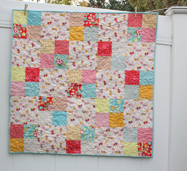 Fast Four Patch PDF quilt pattern