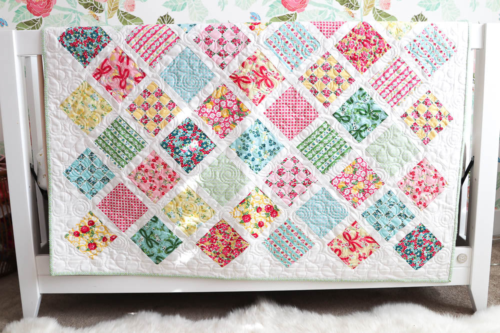 Baby Lattice Quilt Pdf Amy Smart Diary Of A Quilter