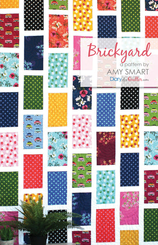 Brickyard Quilt Pattern HARD COPY