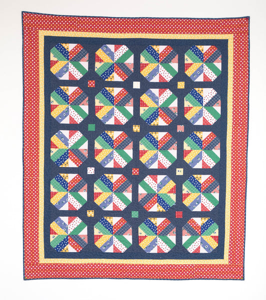 A Bushel and a Peck - Quilt Pattern - HARD COPY