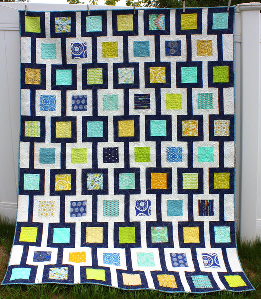 Chain Link Quilt Pattern - HARD COPY