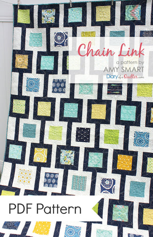Chain Link Quilt Pattern - PDF PATTERN