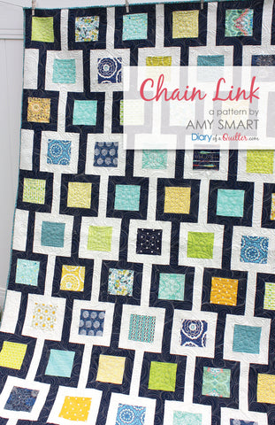 Copy of Chain Link Quilt Pattern - PAPER PATTERN