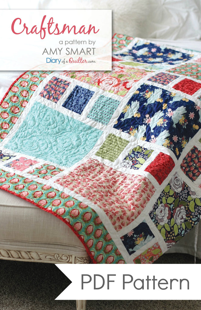 Craftsman Quilt Pattern PDF VERSION
