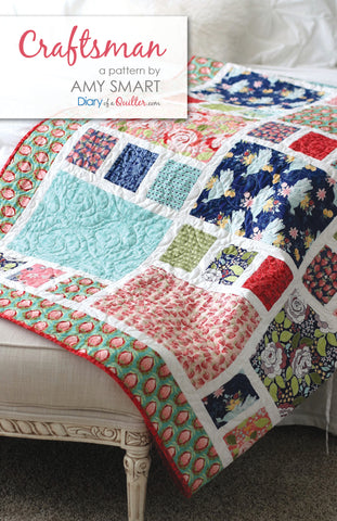 Craftsman Quilt Pattern - HARD COPY