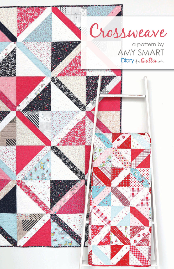 Crossweave Quilt -  PDF VERSION