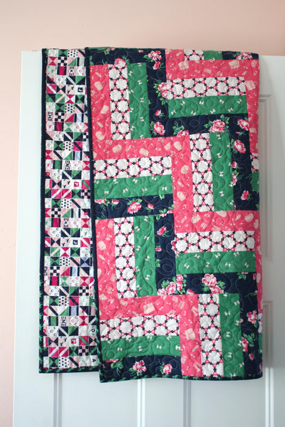 Preppy Baby Quilt - Finished