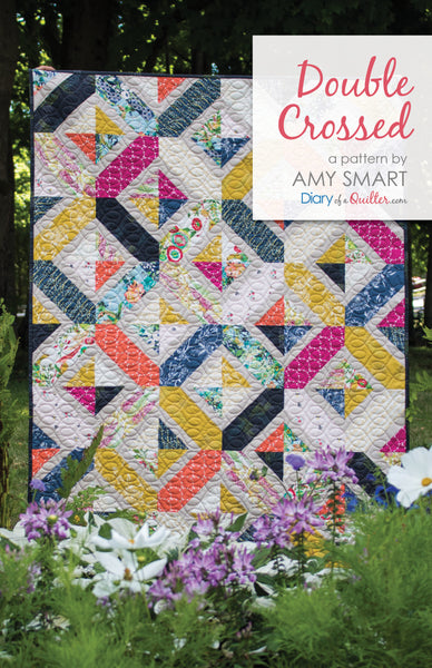 Double Crossed Quilt Pattern - HARD COPY