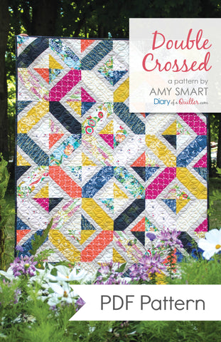 Double Crossed Quilt Pattern PDF VERSION