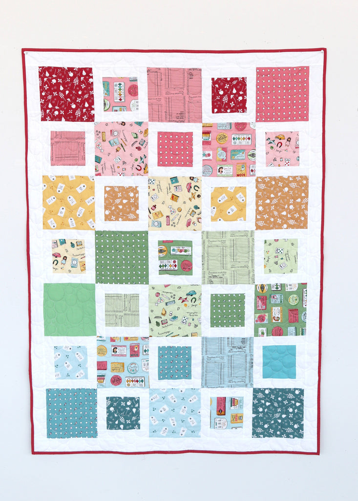 Five N Dime Patchwork Quilt Pattern