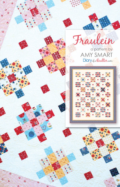 Fraulein Quilt Pattern PDF VERSION