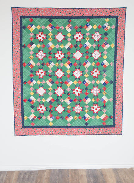 Granny Smith - Quilt Pattern - HARD COPY
