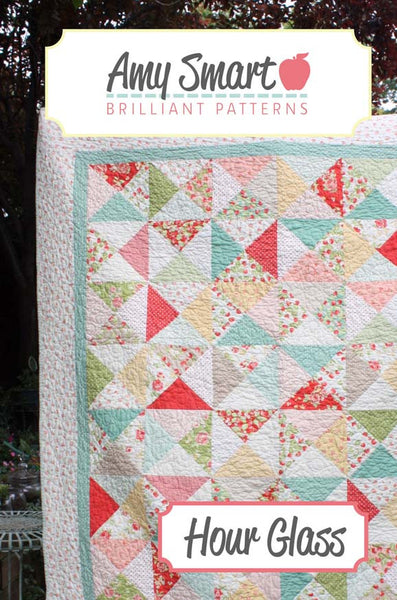 Hour Glass Quilt PDF Pattern