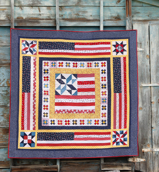 Land That I Love medallion quilt - PDF VERSION