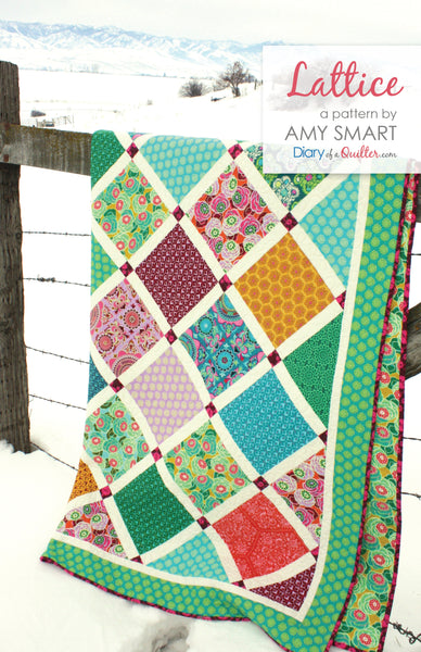 Lattice Quilt - HARD COPY