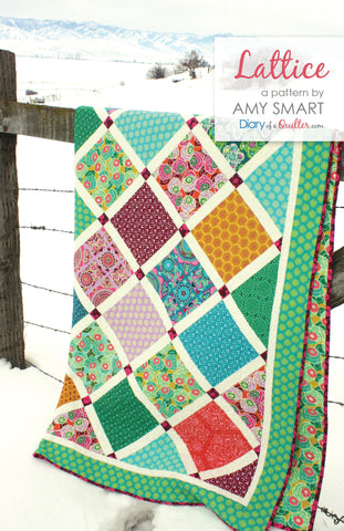 Lattice Quilt - PAPER PATTERN