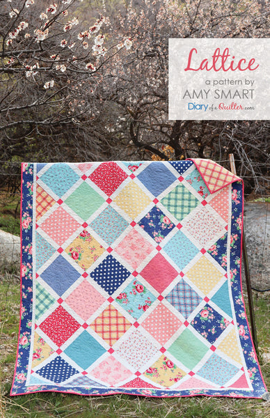 Notting Hill Lattice Quilt Kit