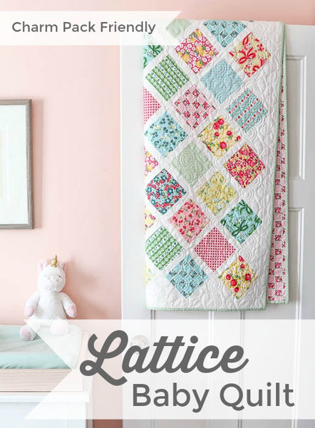 Baby Lattice Quilt PDF VERSION