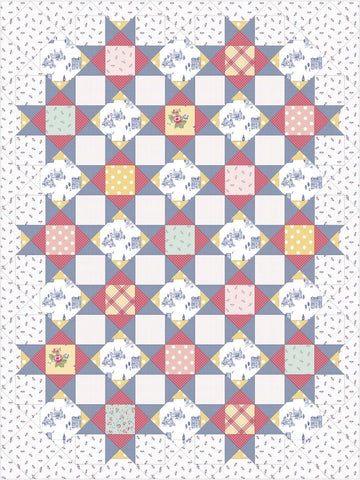 "Palace Court Notting Hill Quilt Kit - Throw size (51"" x 68"")"