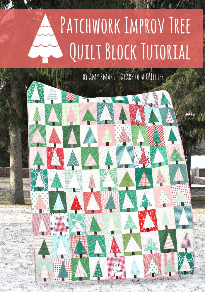 Holiday Patchwork Forest Pattern PDF