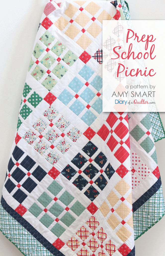 Prep School Picnic - Quilt Pattern - PDF Version