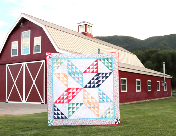 Sugarhouse Star Quilt Pattern PDF Version