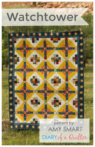 Watchtower Quilt Pattern PDF
