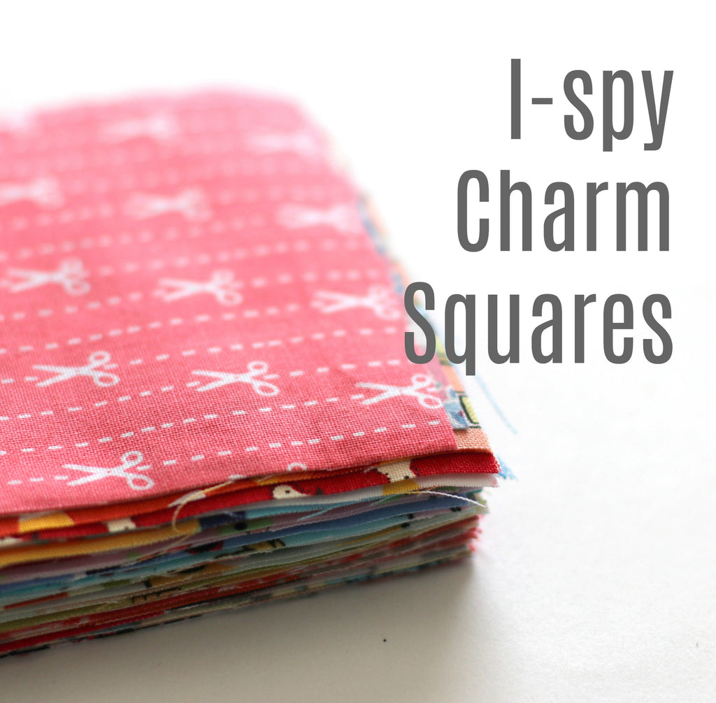 I-Spy Fabric Charm Pack + Quilt Pattern
