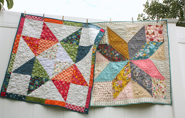 Three Baby Star Quilt Variations