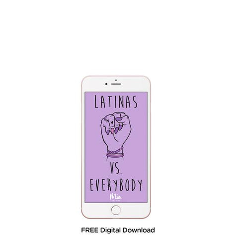 Latina Mobile background - Latina vs everybody
