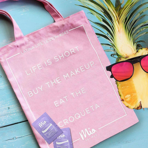 Eat the Croqueta Tote Bag |Mia del Mar