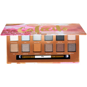 Cafecito Eyeshadow Palette + Dual Ended Brush