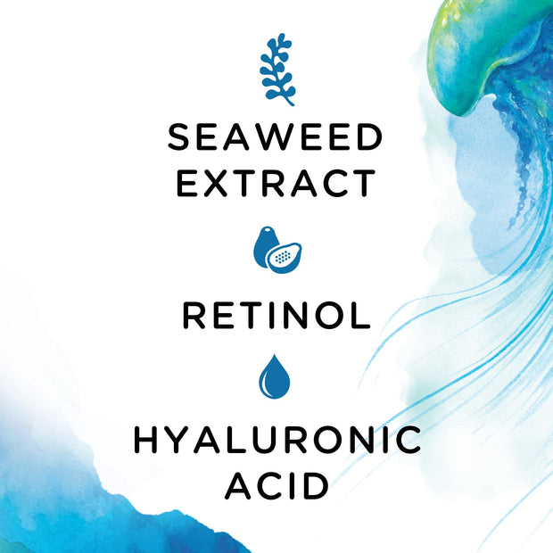 Jellycioso Hyaluronic + Seaweed Eye Mask
