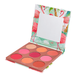 9 Long-wearing Pink Blush Palette